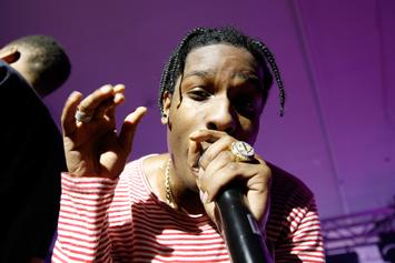 "A$AP Rocky To His Fans During Concert: ""F**k Racism"""