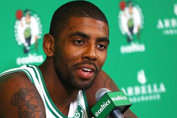 """Kyrie Irving Explains His """"Flat Earth"""" Theory"""
