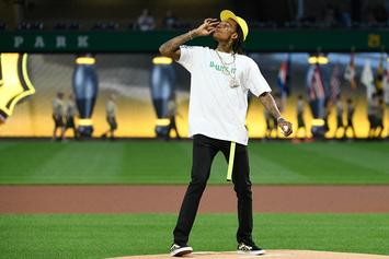 "Wiz Khalifa's First Pitch Weed Gesture ""Should Not Have Happened,"" Says MLB"