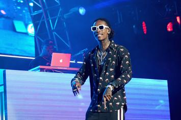 Wiz Khalifa & Pharrell Chop It Up In The Studio, Preview New Music