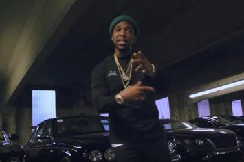 "Curren$y Posts Up ""In The Lot"" For His Latest Music Video"