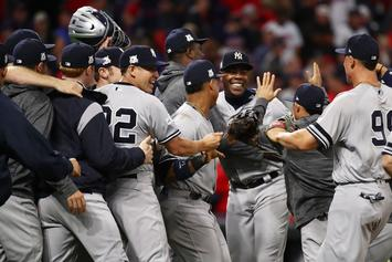 Yankees Beat Indians, Advance To ALCS: Twitter Reacts