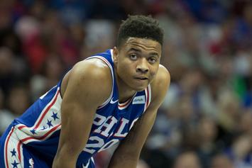 """Sixers' Rookie Markelle Fultz """"Literally Cannot Raise His Arms To Shoot"""""""