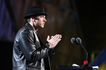 "Eminem Is Donating His ""Lose Yourself"" Lawsuit Winnings To Hurricane Relief"