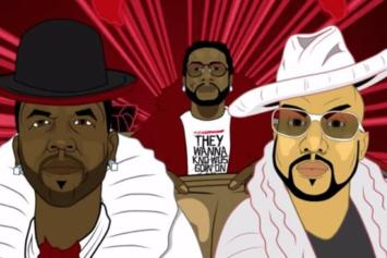 "Watch The Animated Video For Big Boi's ""In The South"" Featuring Gucci Mane & Pimp C"
