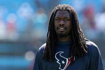 Jadeveon Clowney Wears Inmate Costume To Texans' Halloween Party