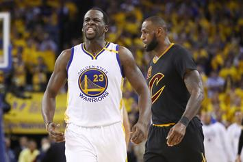 "Draymond Green Trolls LeBron James With His Own ""Mood"" Post"