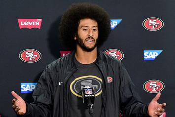 Colin Kaepernick Named GQ's Citizen Of The Year