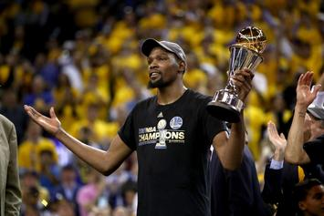 "Kevin Durant Named GQ's ""Champion Of The Year"""