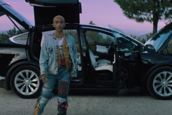 "Jaden Smith Fronts Gold Chains & Grills In ""Icon"" Video"