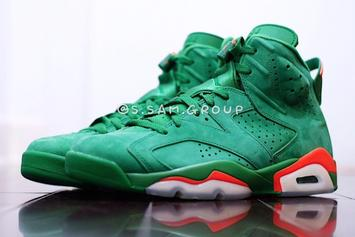 "Green Suede ""Gatorade"" Air Jordan 6 Release Details Announced"