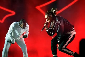 Future & Kendrick Lamar Had Two Of 2017's Most Consumed Songs