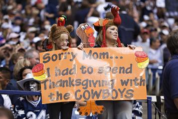 NFL's Thanksgiving Day Games See Vikings, Cowboys & Lions In Action
