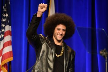 "Colin Kaepernick Named Finalist For TIME's ""Person Of The Year"""