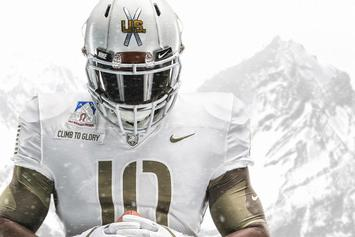 Nike Unveils Special Edition Uniforms For Army vs Navy Game