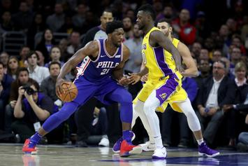 Joel Embiid Comes Face To Face With LaVar Ball After Lakers Beat Sixers