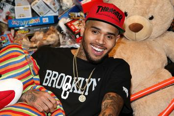 Chris Brown Buys His Daughter, Royalty, A Pet Monkey