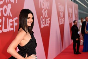 Kendall Jenner Was All Smiles At Blake Griffin's Charity Comedy Show