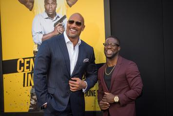 "Kevin Hart Endorses Dwayne ""The Rock"" Johnson's Presidential Ambitions"