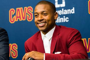 Watch Isaiah Thomas React To The News That He's Been Traded To Cavaliers