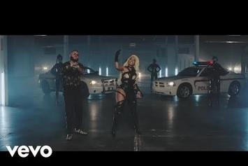 "Nicki Minaj & Travis Scott Join Farruko & Bad Bunny For The ""Krippy Kush (Remix)"" Video"
