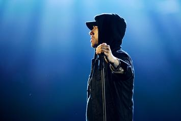 "Eminem Premieres ""Walk On Water"" Video Feat. Beyonce Exclusively On Apple Music"