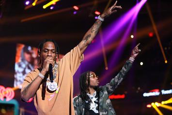 "Travis Scott and Quavo's ""Huncho Jack, Jack Huncho"" Debuts At No. 3 On Billboard"