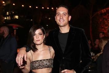 """G-Eazy's Girlfriend Halsey Caught Snorting """"Unknown Substance"""""""