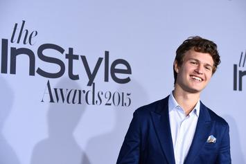 "Ansel Elgort Puts ""Baby Driver"" Skills To The Test During Bomb Cyclone Blizzard"