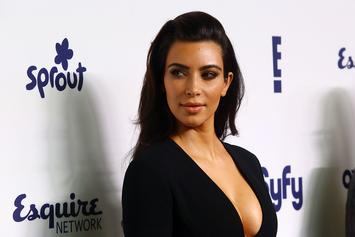 Kim Kardashian Almost Bares All In Motivational Thirst Trap