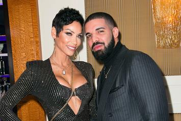 Drake Attends Nicole Murphy's Surprise 50th Birthday Party