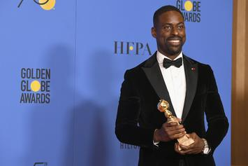 """Sterling K. Brown of """"This Is Us"""" Secures Historic Win at Golden Globes"""