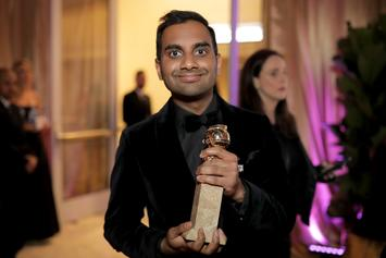 Aziz Ansari Celebrates Golden Globes Win With In-N-Out Burger