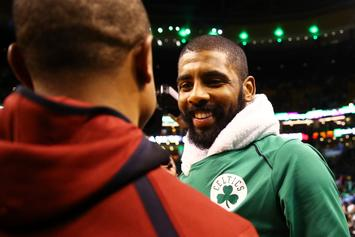 Kyrie Irving 'Likes' IG Video Of Cavs Being Yelled At By LeBron