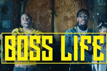 """YFN Lucci & Offset Drop Ice Cold Visuals For """"Boss Life"""""""