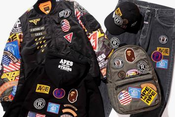 """BAPE Unveils Limited Edition """"Patched"""" Collection For Spring/Summer 2018"""
