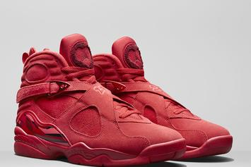 """Valentine's Day"" Air Jordan 8 Release Details Announced"