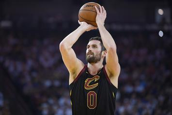 Cavs' Kevin Love Breaks Left Hand; Expected To Miss 6-8 Weeks