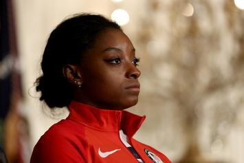"Simone Biles On Why She Didn't Speak At Larry Trial: ""Too Much To Handle"""