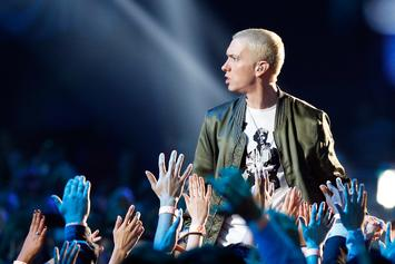 "Eminem Shares ""River"" Teaser Featuring Mystery Woman & Ed Sheeran"