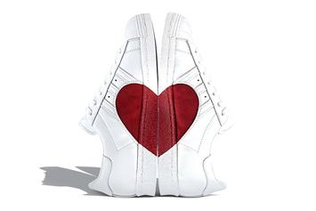 Valentine's Day Inspires New Adidas Superstar Sneaker