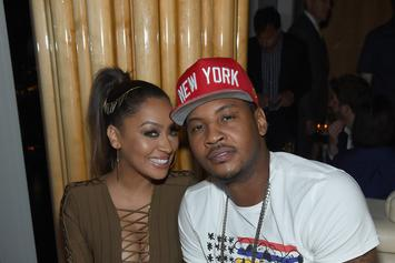"Carmelo Anthony Calls La La His Valentine ""Forever"" Despite Separation Rumours"