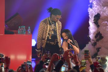 "Cardi B Bought Offset An Elaborate ""Bando"" Chain For Valentine's Day"