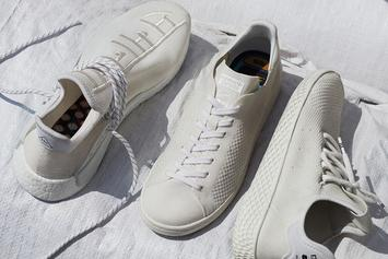 "Pharrell x Adidas ""Blank Canvas"" Collection To Release This Week"