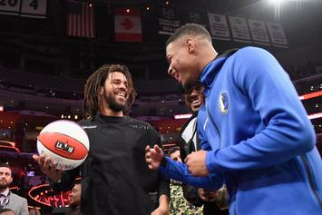 Dennis Smith Jr. Planned To Use J. Cole In The Dunk Contest
