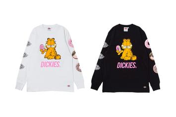 Dickies & Garfield Unveil Collaborative Collection