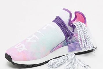 "Pharrell x Adidas NMD Hu Trail ""Holi"" Drops Next Week"
