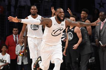 Team Lebron Scrapes Past Team Stephen In 2018 NBA All-Star Game