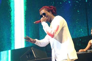 """Young Thug Meets Andre 3000 Backstage During """"HIHORSE'D"""" Tour"""