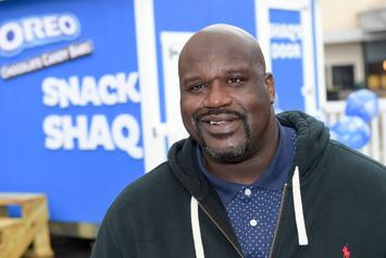 Shaq Ties $500 To Balloons, Releases Them For His Birthday